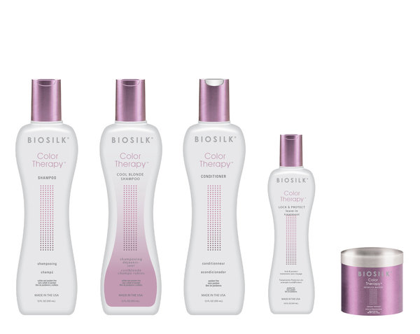 BioSilk Color Therapy Lock & Protect Leave - in Treatment   67 ml (Reisegröße)